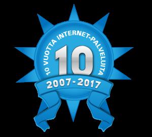 Internetsuunnittelu.com 10-vuotta
